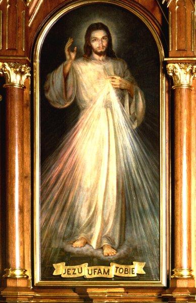 obraz-lagiewniki Santuario de la Divina Misericordia en Cracovia