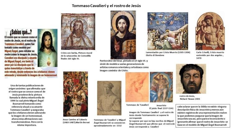 Tommaso cavalieri y el estereotipo del rostro de Jesus